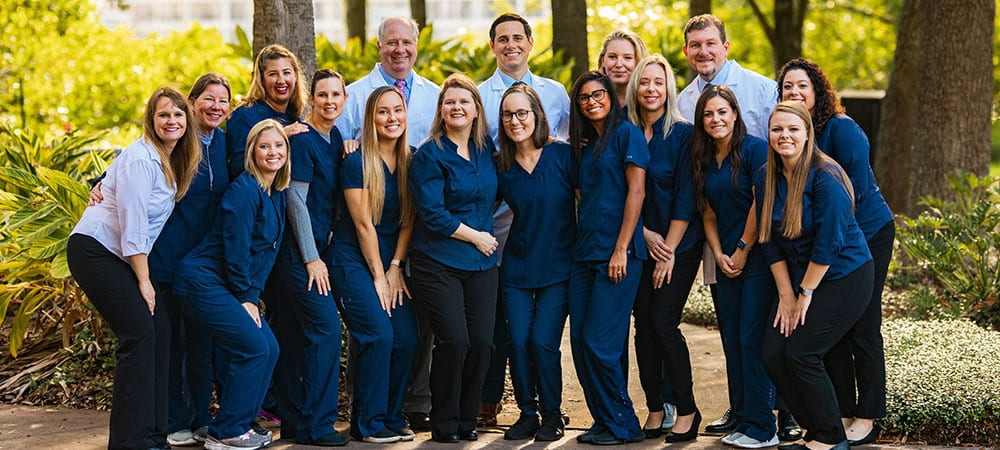 Group photo of Tampa Periodontics